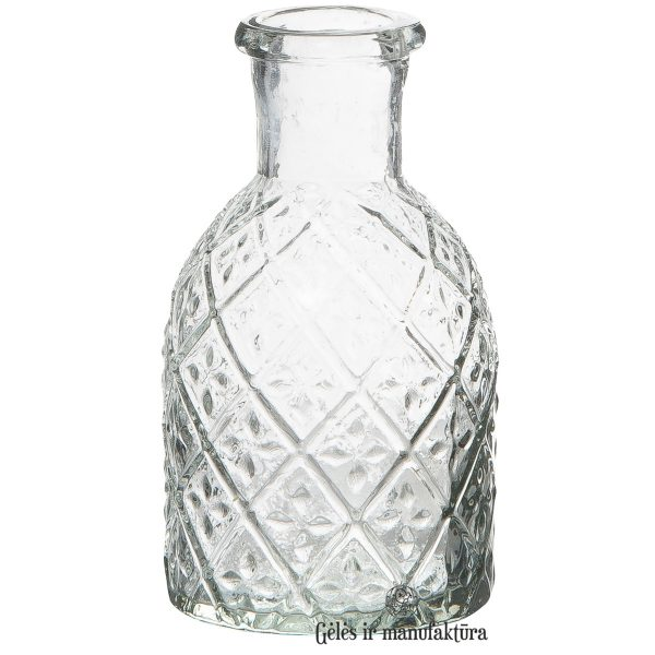 vaza vazelė glass žvakidė candleholder gėlės ir manufaktūra iblaursen vases 0200-00 flowershop 0245-00