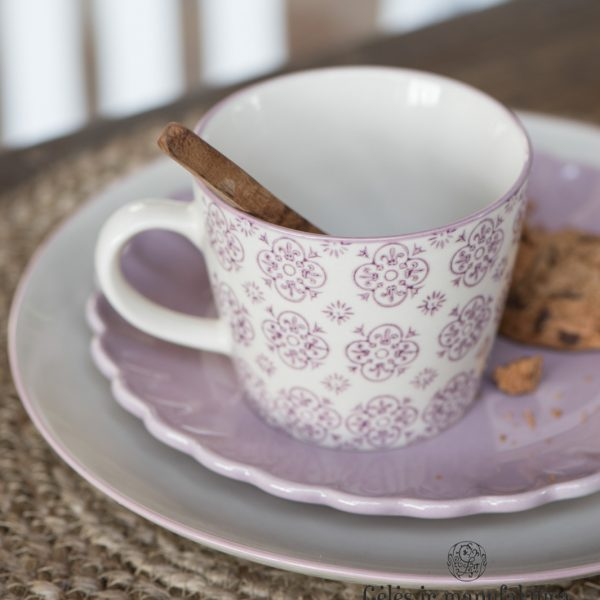 ceramic geles ir manufaktura Mynte english rose ibLaursen indai bowl plate