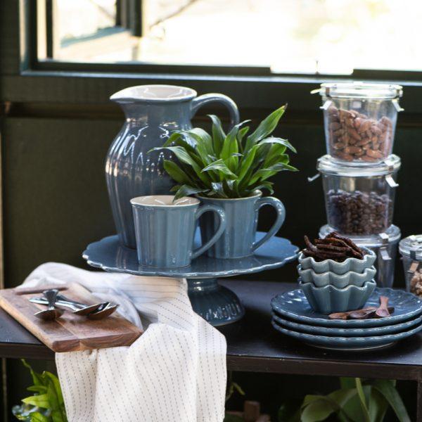 mynte kitchen cornflower blue iblaursen gėlės ir manufaktūra