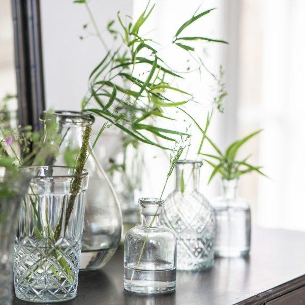 vaza vazelė glass gėlės ir manufaktūra iblaursen vases