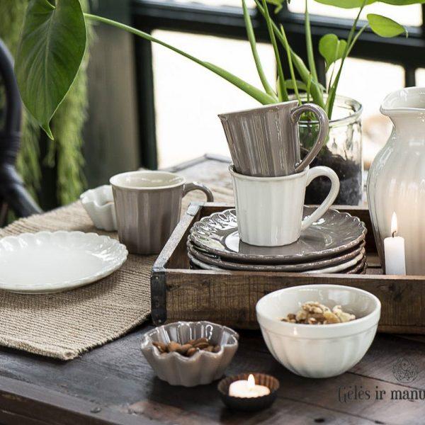 geles ir manufaktura mynte keramika iblaursen puodelis mug pitcher asotis 2077-82
