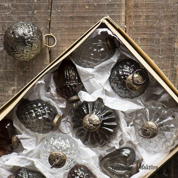 christmas ornament silver kaledinis žaisliukas 8629-12 iblaursen geles ir manufaktura