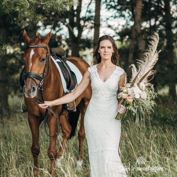 cortaderia kortaderija pampas grass bridal bouquet nuotakos puokštė gėlės ir manufaktūra