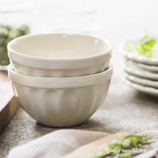 musli bowl dubenėlis butter cream kreminis mynte 2078-82 iblaursen gėlės ir manufaktūra