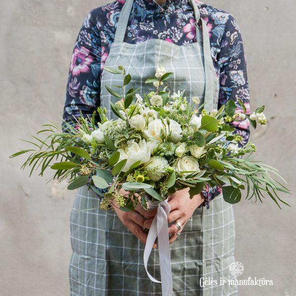 gėlės vestuvės nuotakos puokštė bridal bouquet vilniuje