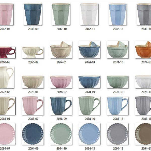 puodelis mug green tea gėlės ir manufaktūra mynte jumbo tableware iblaursen