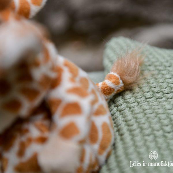 bukowski ziggy giraffe zebra wild pliušinis žaisliukas plush toy geles ir manufaktura