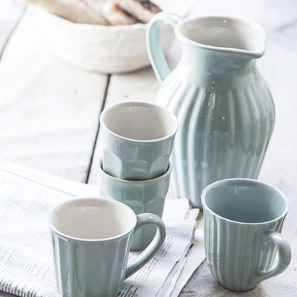 geles ir manufaktura mynte-stillwater pitcher mug asotis puodelis lėkštė 2041-21 iblaursen