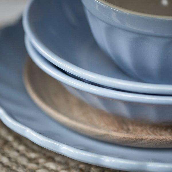 bowl musli dubenėlis mug puodelis blue mėlynas nordic sky mynte cup plate 2078-13 iblaursen gėlės ir manufaktūra