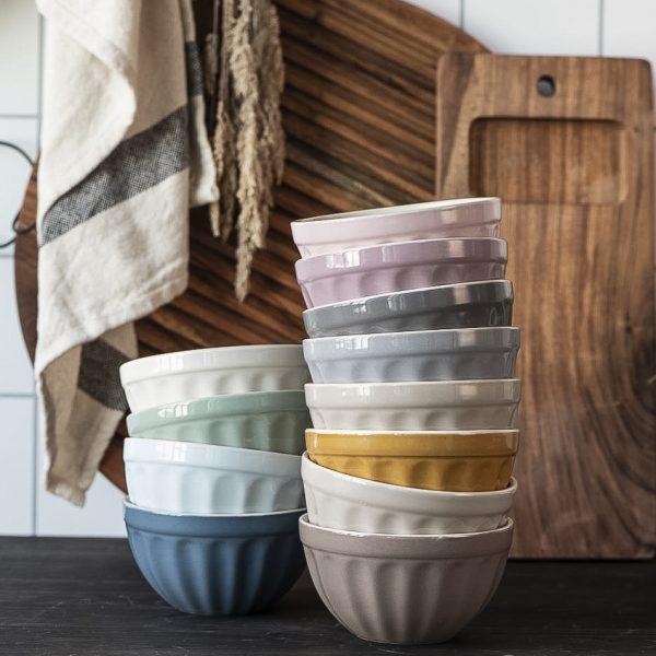 musli bowl dubenėlis spalvotas butter cream english rose green tea mynte 2078-10 iblaursen gėlės ir manufaktūra