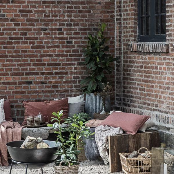 basket rattan pot plants lantern vazonas krepšys pintas žibintas žvakidė 9600-25 2951-00 iblaursen gėlės ir manufaktūra