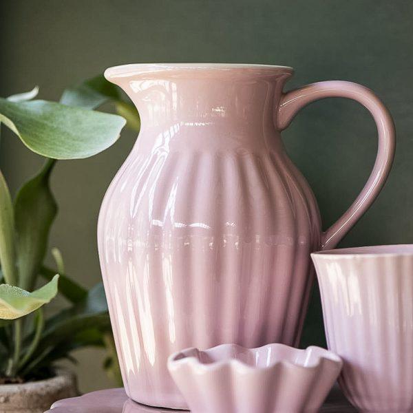 cup-cake-mynte-english-rose dubenėlis rožinis 2086-07 iblaursen gėlės ir manufaktūra