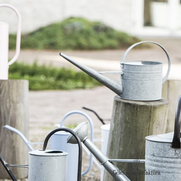 zinc watering can grey laistytuvas 4238-18 iblaursen pilkas gėlės ir manufaktūra
