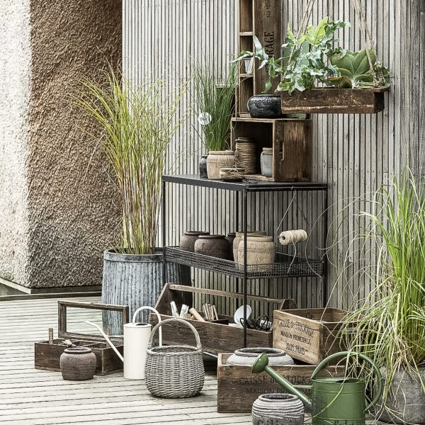 watering can pots pottery ceramic metal žalias laistytuvas metalinis zinc 4238-11 iblaursen gėlės ir manufaktūra