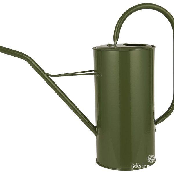 watering can metal žalias laistytuvas metalinis zinc 4238-11 iblaursen gėlės ir manufaktūra