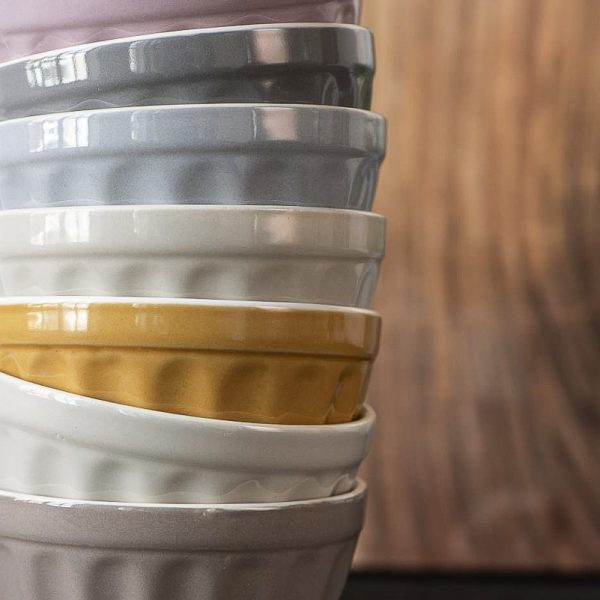 musli bowl mug mustard yellow mynte puodelis dubuo dubenėlis plate geltona garstyčiių spalvos gėlės ir manufaktūra iblaursen 2078-03