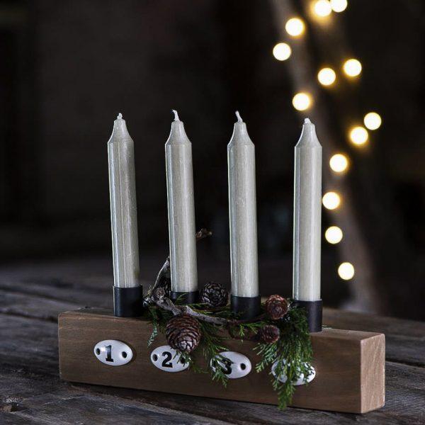 christmas candles short kalėdos žvakelės decor gėlės ir manufaktūra iblaursen 4171