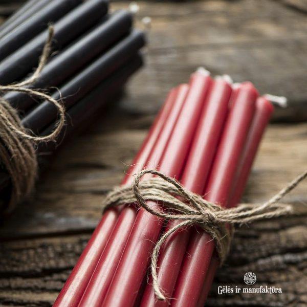 christmas candles taper plonos žvakės kalėdos žvakelės decor gėlės ir manufaktūra iblaursen 4172-24