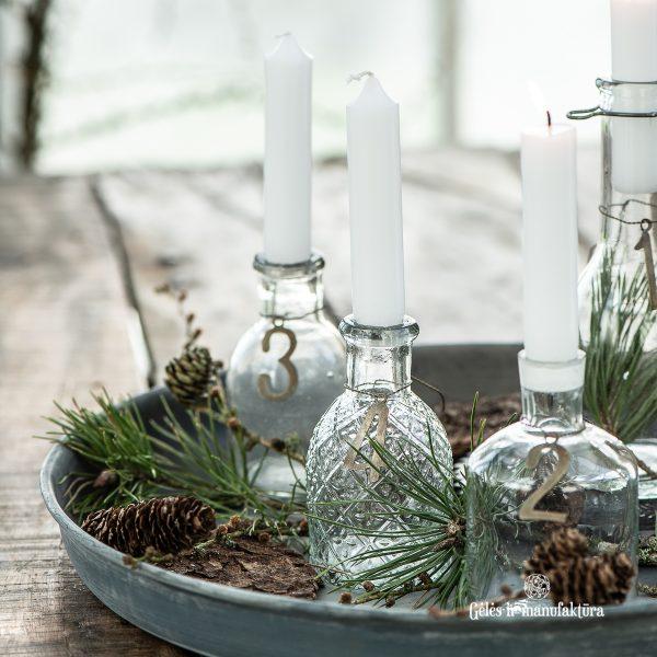christmas kalėdos papuošimas decor žvakidė lantern žvakė candleholder vaza vazelė gėlės ir manufaktūra iblaursen 0245-00