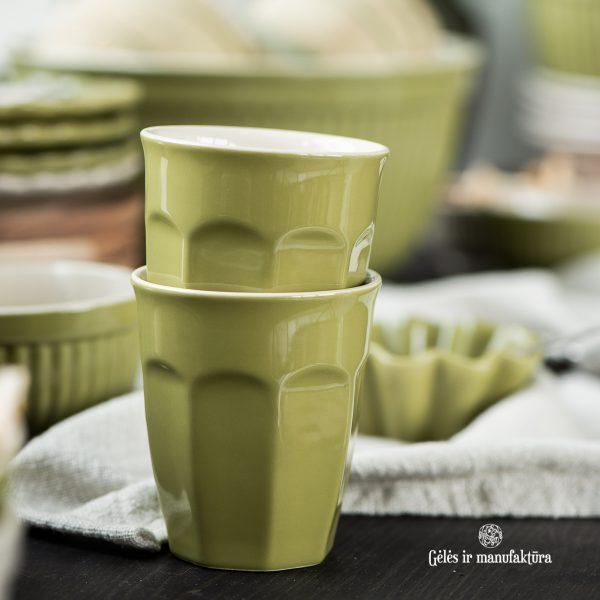bowl musli dubuo dubenėlis kitchen mynte herbal green ceramics pitcher mug cup ąsotis tortinė puodelis žali salotiniai gėlės ir manufaktūra keramikiniai indai