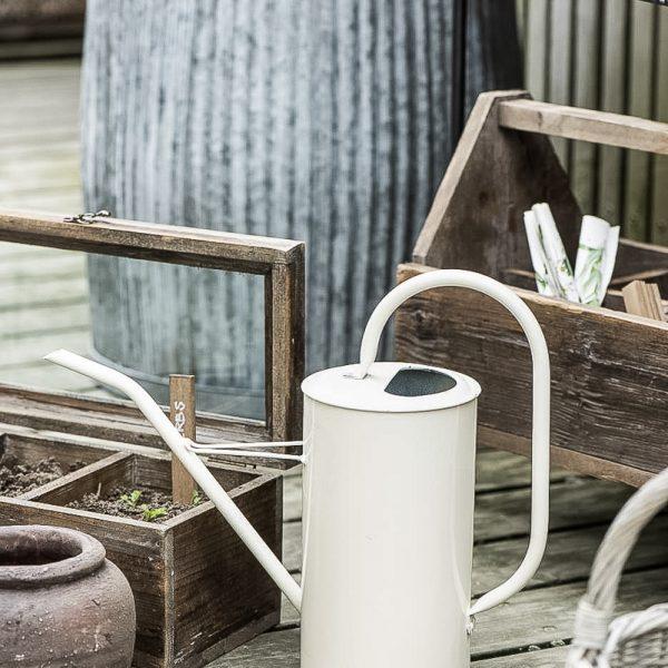 pot vazonas watering can metal žalias laistytuvas metalinis zinc 4237-18 iblaursen gėlės ir manufaktūra