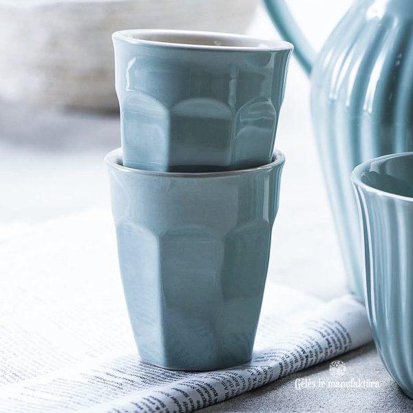 mug caffe latte mynte nordic sky kavos puodelis gėlės ir manufaktūra cup iblaursen 2042