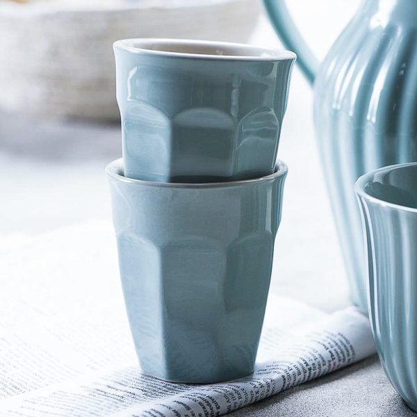 mug caffe latte mynte nordic sky kavos puodelis gėlės ir manufaktūra iblaursen 2042
