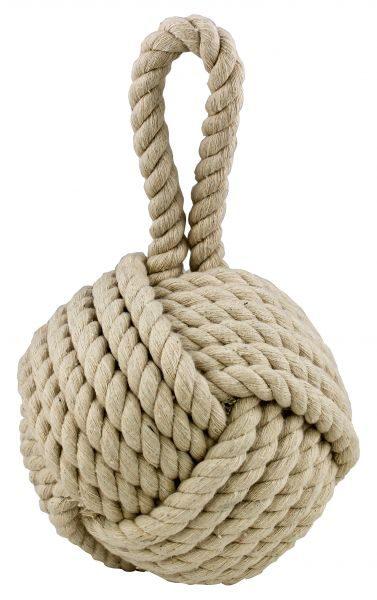 doorstpper duru stabdis jurinis mazgas is dziuto virves FanniK Knot door stops jute cotton off white natural TT